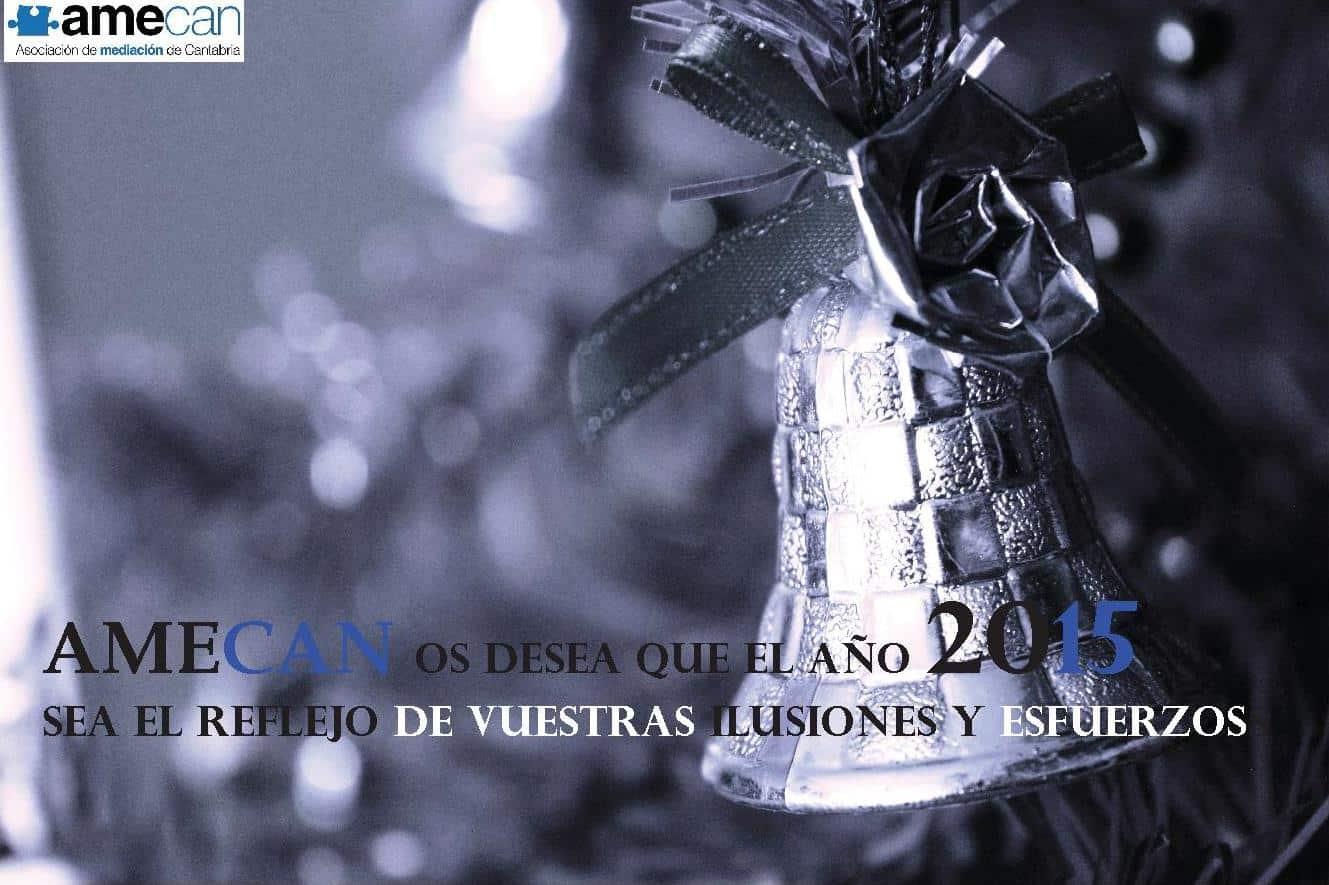 felicitación navideña AMECAN 2014