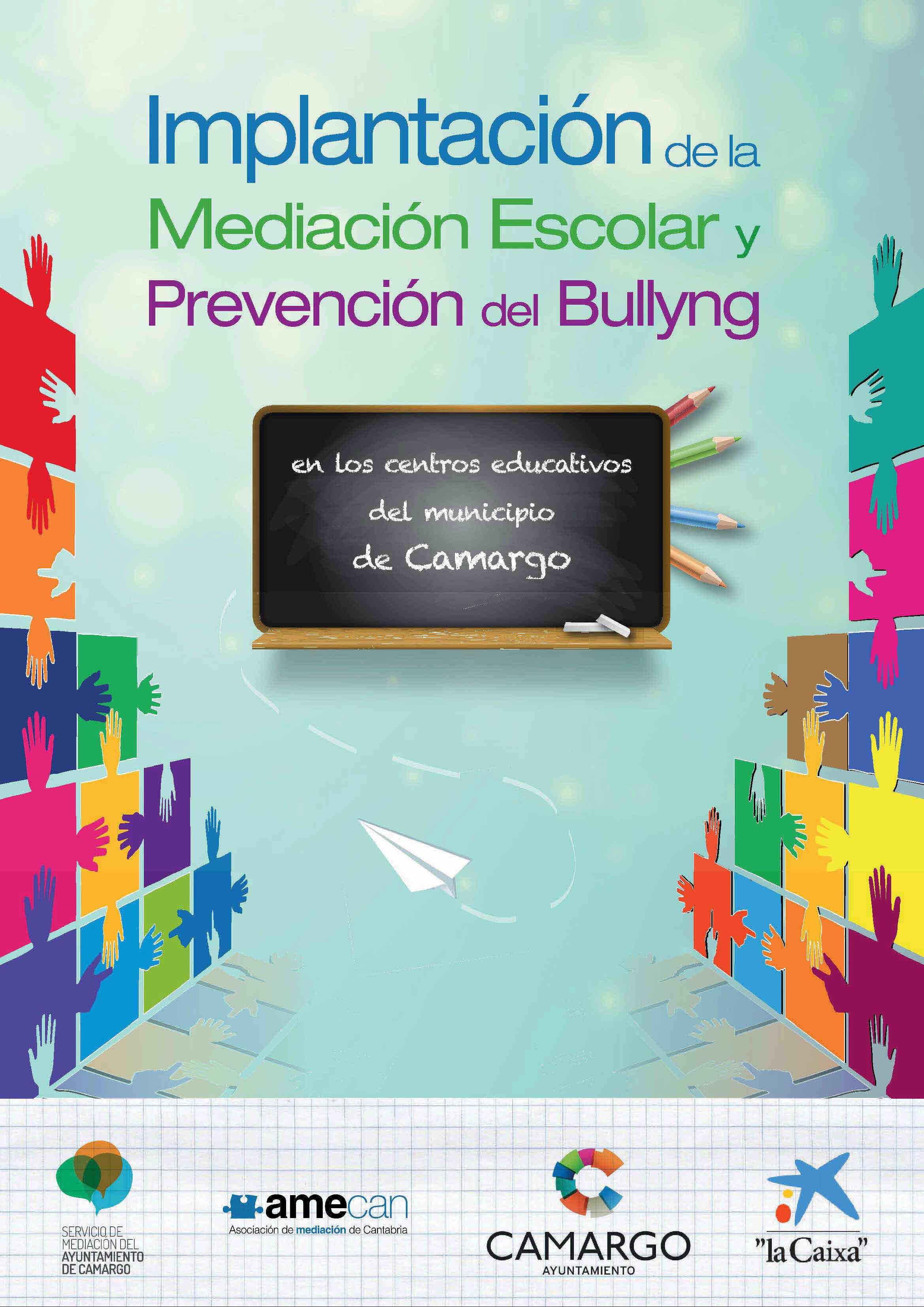 Cartel Mediación escolar Camargo