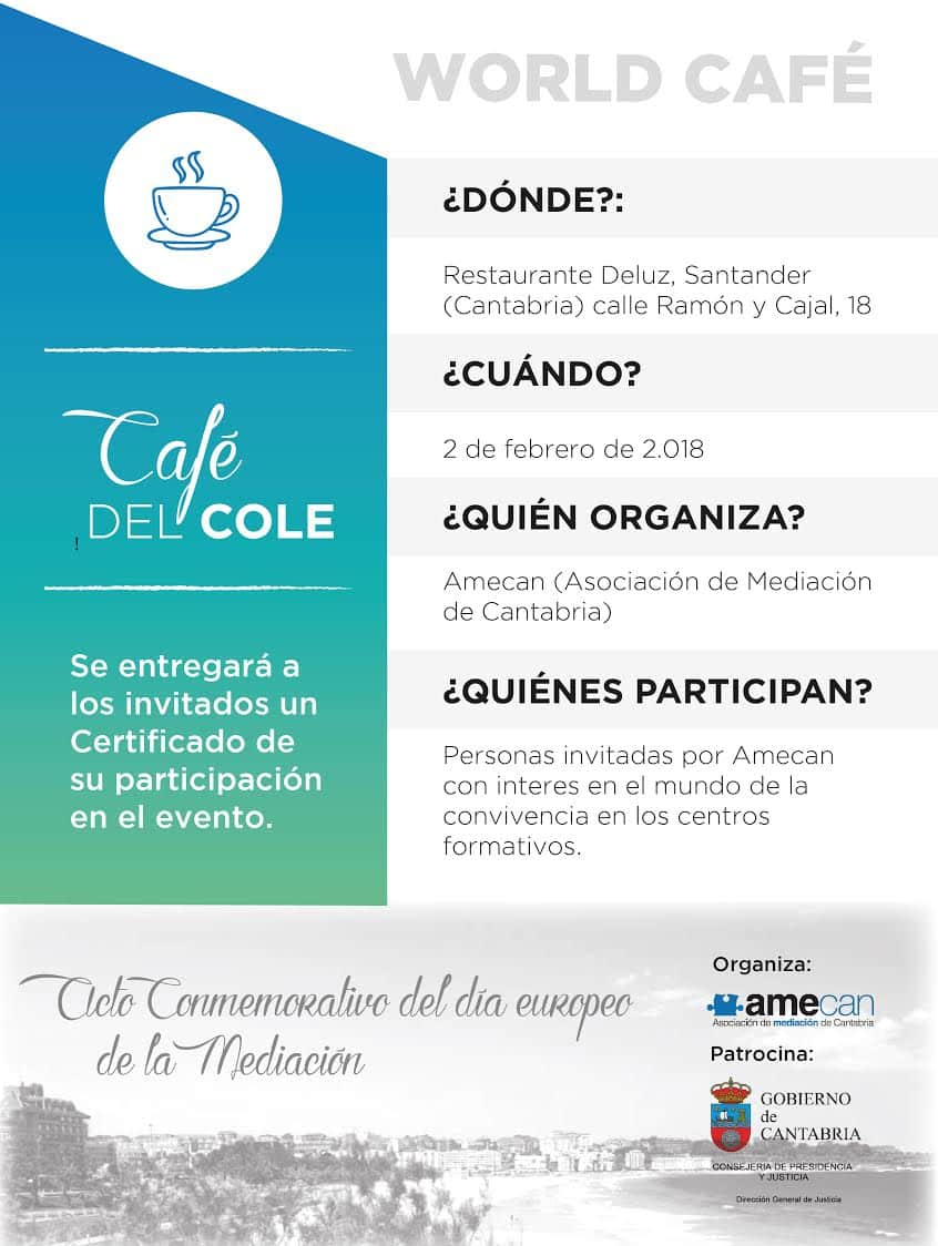 Flyer Cafe del Cole